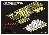 ボイジャーモデル 1/35 第二次世界大戦 ドイツ軍 ティーガー1後期型 エッチングセット トランペッター09540用 プラモデル用パーツ PE35928