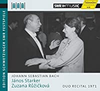J.S. Bach: Duo Rercital 1971 by Janos Starker (2015-05-03)
