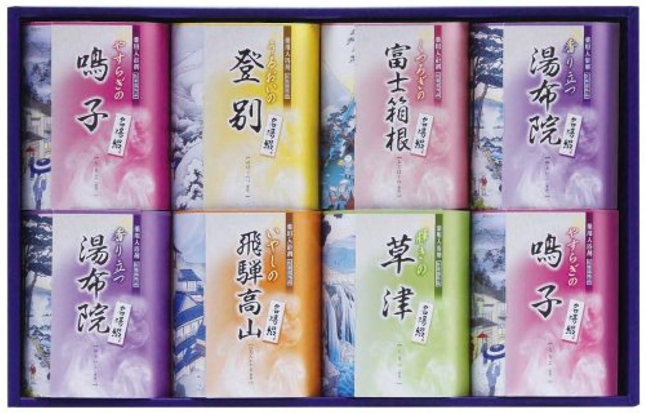 エールメディック有彩色のTML-15名湯綴 薬用入浴剤セット