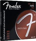 Fender フェンダー エレキベース弦 NPS RW LS 7250L 40-100