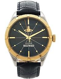 [ヴィヴィアンウエストウッド] 腕時計 メンズ Vivienne Westwood VV192NVNV ネイビー イエローゴールド [並行輸入品]