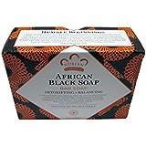 ヌビアン ヘリテージ(NUBIAN HERITAGE)アフリカン ブラック ソープバー 6個セット 141gX6[海外直送品]
