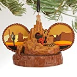 Disney Big Thunder Mountain Railroad Ear Hat Ornamentオレンジ