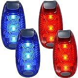 Amazon.co.jpWINOMO 2ペアの安全LEDライトランナーBikes Boats High Visibilityクリップライトfor Runningウォーキングジョギング(ブルー+レッド)