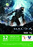 Xbox LIVE 12ヶ月+1ヶ月 ゴールドメンバーシップ Halo 4 エディション