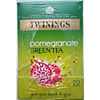 Twinings Pomegrante Green Tea - 4 x 20 Tea Bags