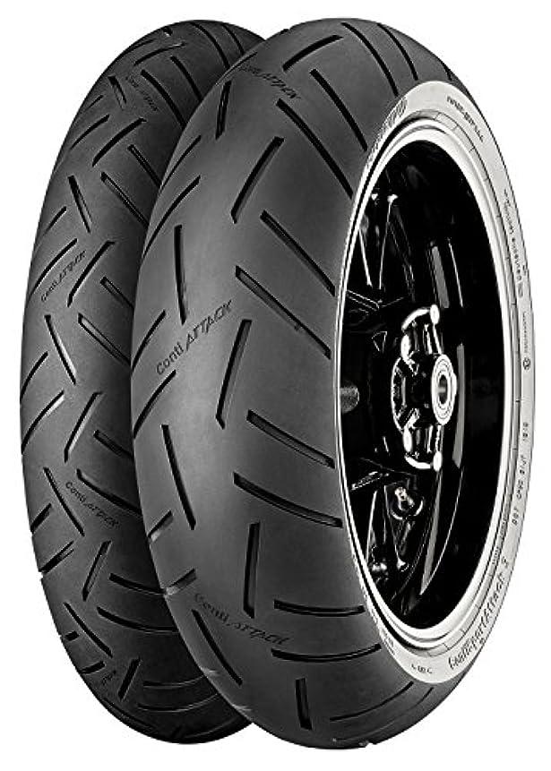 災難無視できる芽ウインズジャパン〔WINS JAPAN〕〔Continental Motorcycle Tyres〕ContiSportAttack3 120/70 ZR17 M/C (58W) TL 9983