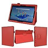 wisers NEC LAVIE Tab E TE510/BAL (PC-TE510BAL) ビジネス向けモデル THY-A0SD17029 (K-OPT仕様) THY-BOSD17027 10.1インチ タブレット 専用 ケース カバー [2015 年 新型] レッド