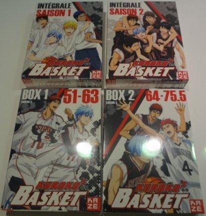 黒子のバスケ 第1~3期 コンプリート DVD-BOX セット くろこのバスケ