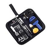 時計工具セット 腕時計修理工具セット ベルト調整 電池交換 時計修理ツール メンテナンス専用工具 時計修理工具 HYFAM