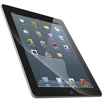 エレコム iPad フィルム iPad (2012年発売モデル) iPad2(2011年発売モデル) 対応 気泡が目立たなくなるエアーレス加工 指紋防止 光沢 TB-A12FLFAG