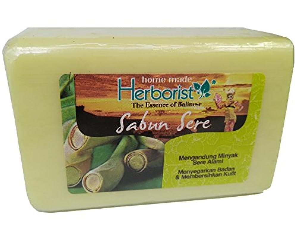 健康二却下するHerborist Sabun Sere ハーボリストセアソープ 160g 天然シトロネラオイル配合