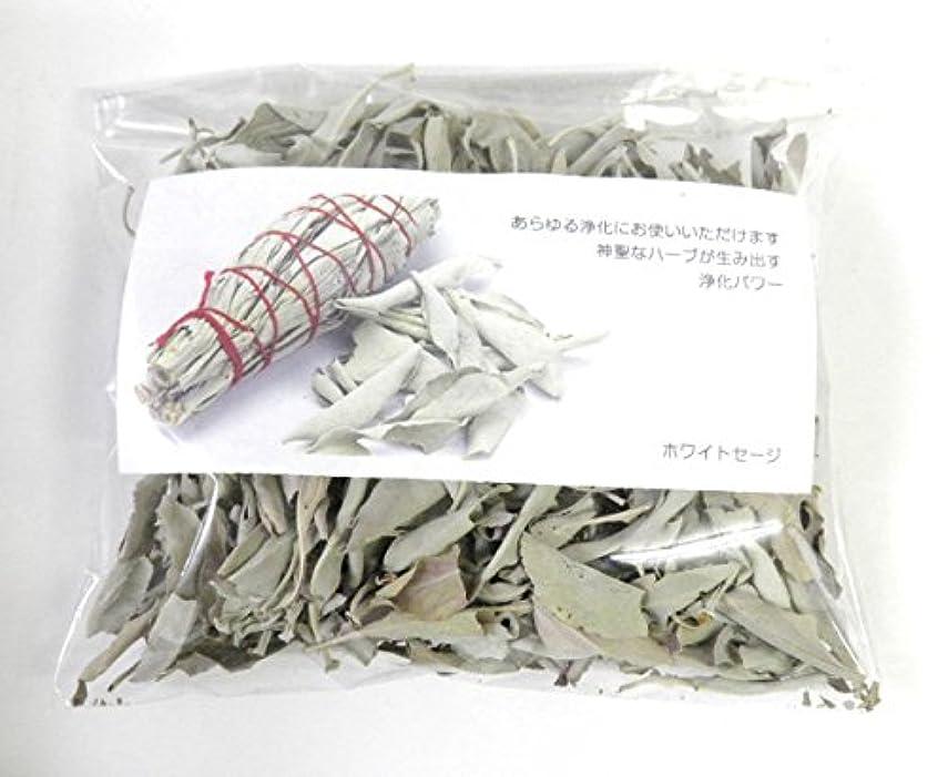 乱気流非常に装備するホワイトセージ リーフのみ 約50g 浄化用 オーガニック 無農薬 お香 プロ用 パワーストーン