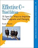 Effective C++: 55 Specific Ways to Improve Your Programs and Designs (Addison-Wesley Professional Computing Series)