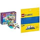 レゴ(LEGO)フレンズ ハートレイク ビーチショップ 41315 & クラシック 基礎板(ブルー) 10714