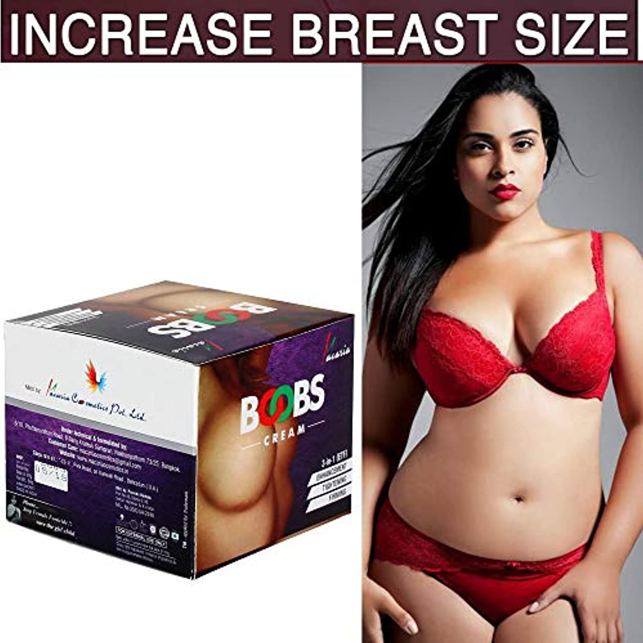 INSTANT LARGER BOOBS CREAM GEL & LOTION