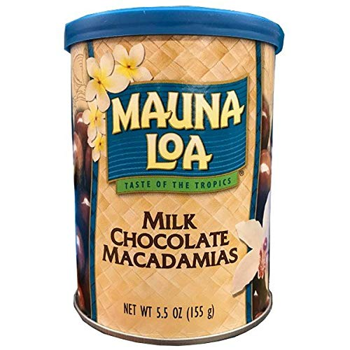 MAUNALOA(マウナロア) マカデミアナッツ ミルクチョコレート 5.5oz
