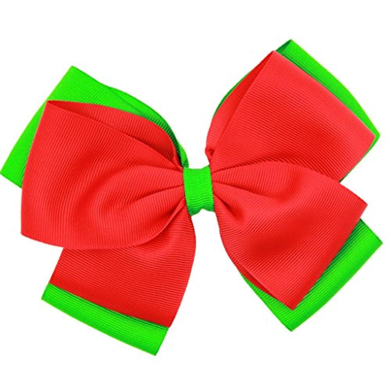 Dovewill 全12種 ファッション 髪飾りサンタクロース クリスマス クリップ 水玉 女の子