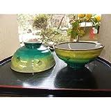 【送料無料】【九谷焼】ペアご飯茶碗『黄緑山茶花』  お祝い・結婚祝い・お返し・父の日・母の日・ご贈答