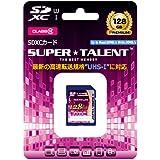 スーパータレント UHS-I SDXCメモリーカード 128GB Class10 ST28SU1P