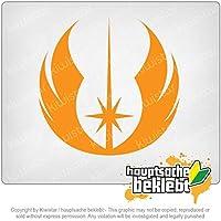 ジェダイオーダー Jedi Order 10cm x 10cm 15色 - ネオン+クロム! ステッカービニールオートバイ