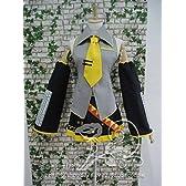 AK2547 VOCALOID  ボーカロイド 亜北ネル  公式服 風 ウイッグ付き コスプレ衣装 完全オーダーメイドも対応可能