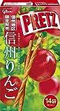 信州地区限定 グリコ ジャイアントプリッツ<信州りんご> glico PRETZ 14袋