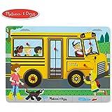 Melissa & Doug The Wheels On The Bus Sound Puzzle (6 Piece)
