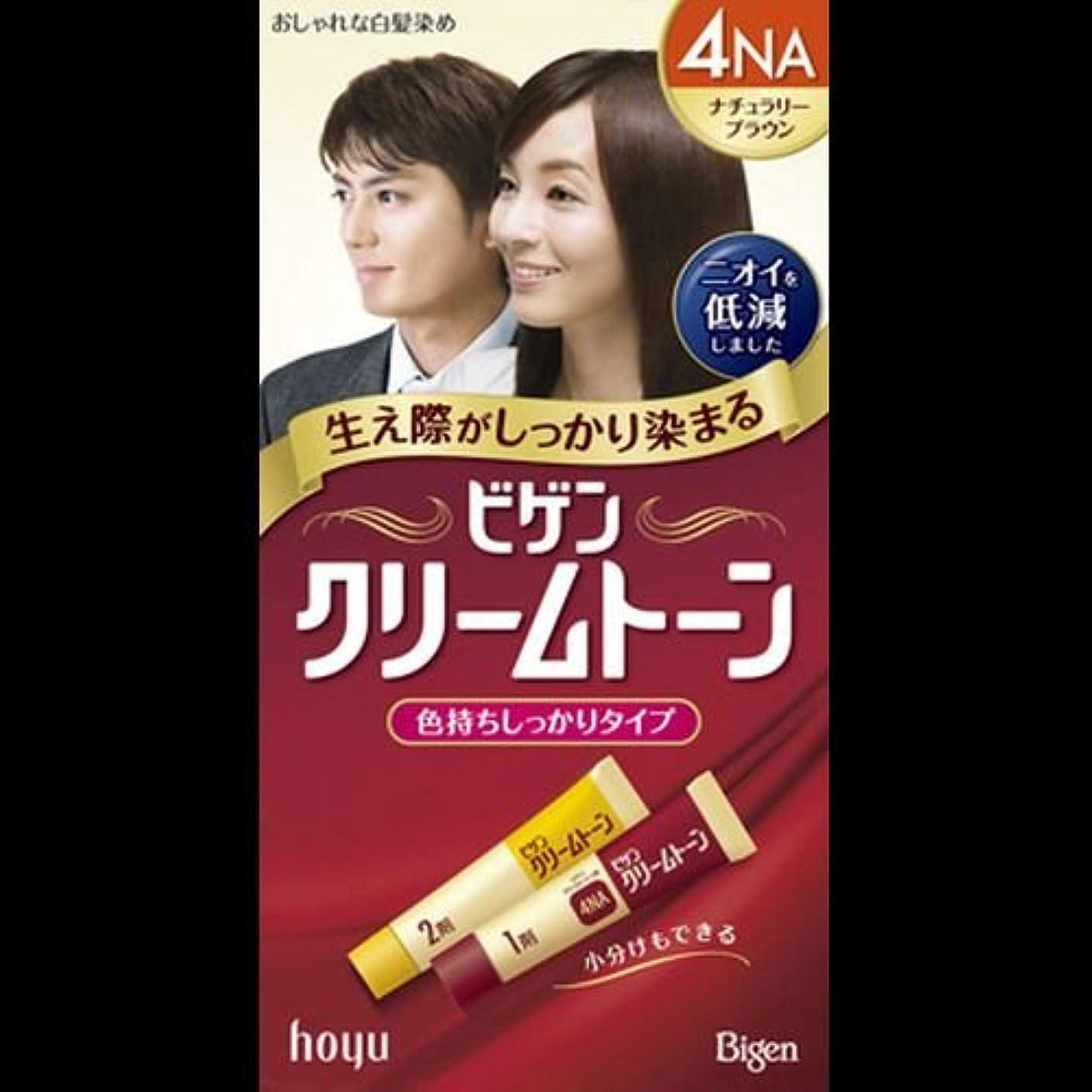 治療敏感な脆いビゲン クリームトーン 4NA(ナチュラリーブラウン) ×2セット
