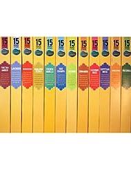 Spa Nag Champa Incense人気Fragrances Sampler – 12ボックス(15 Sticks Ea) Nag Champa、サンダルウッド、パチュリ、ラベンダー、ジャスミン、ムスクFrankincense...