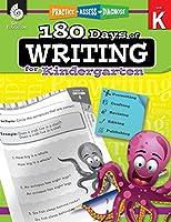 180 Days of Writing for Kindergarten (Practice, Assess, Diagnose: Level K)