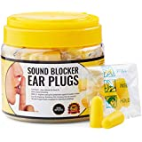 Ear Plugs for Sleeping - Block Snoring & Loud Noises So You Can Sleep - 30 Pairs Individually Wrapped, Hygienic Sound Blocker Earplugs, for Noise Reduction and Hearing Protection Anywhere, Anytime