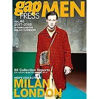 2017-2018 A/W gap PRESS MEN vol.48 MILAN/LONDON (gap PRESS Collections)