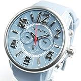 Tendence テンデンス 腕時計 並行輸入品 アナログ ユニセックス クロノグラフ G-47 Multifunction TG765001 ライトブルーグレー [時計]
