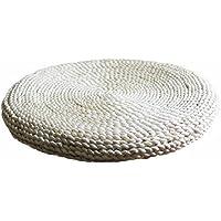 天然素材座布団   円座  ざぶとん  丸型   トウモロコシを編んだざぶとん