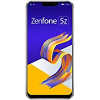 ASUS ZenFone 5Z SIMフリースマートフォン【日本正規代理店品】スペースシルバー (500 Amazonコインクーポン付き) ZS620KL-SL128S6/A