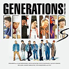 GENERATIONS from EXILE TRIBE「DREAMERS」のジャケット画像