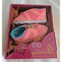 Our Generation Dashing for Style Shoes 46cm Doll Clothes Athletic Sneakers