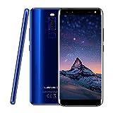 Leagoo S8 - 5.7インチ 18:9 大画面 4G FDD-LTE スマートフォン, アンドロイド7.0 オクタコア 3GB 32GB, 4 ンカメラ 13MP+2MP & 8MP+2MP, 指紋 ID, デュアルSIM, アンロック フルスクリーン 携帯電話