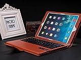 iPad air 2 ケース iPad air 1 ケース bluetooth レザー キーボード/iPad air2 スマートケース iPad air1 スマートケース/IPADAIR2 アイパッド IPADAIR1 アイパッド IPAD 6 ケース IPAD 5 ケース カバー アイパットケース/[iPad]ノートタイプipad ケース/ipad カバー レザー/ipad ケース ブランド(ブラウン)