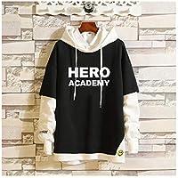 My Hero Academia Pop Hoody Crop Top, Hoodies Sweatshirt Pullover Funny, Long Sleeve Casual Hoodie Sweatshirt Print Plus Size Men's Teen Girls