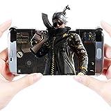 TRS IPhone/Android ゲームコントローラー ゲームパッド 高耐久ボタン 感応式射撃で「荒野行動に対応できる」