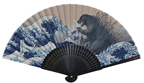 GODZILLA(ゴジラ)扇子 富嶽三十六景 大怪獣ノ図 8510