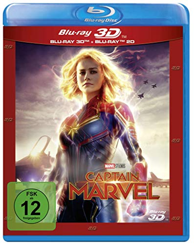 Captain Marvel: Blu-ray 3D + 2D