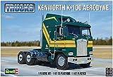 アメリカレベル 1/25 ケンウォース K-100 エアロダイン プラモデル 2514