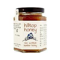 生スコットランド杢蜂蜜227グラム (Hilltop Honey) (x 4) - Hilltop Honey Raw Scottish Heather Honey 227g (Pack of 4)