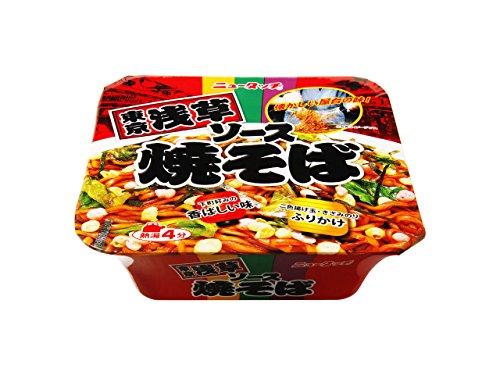 ニュータッチ 東京浅草ソース焼そば 128g×12個