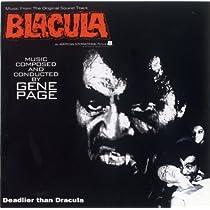『吸血鬼ブラキュラ』オリジナル・サウンドトラック