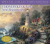 Thomas Kinkade Special Collector's Edition 2020 Deluxe Wall Calendar: New Beginnings