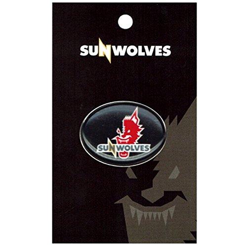 [해외]SUNWOLVES (산 늑대) 공식 핀 배지 (블랙) SWPN001/SUNWOLVES (San Wolves) Official pin badge (black) SWPN001
